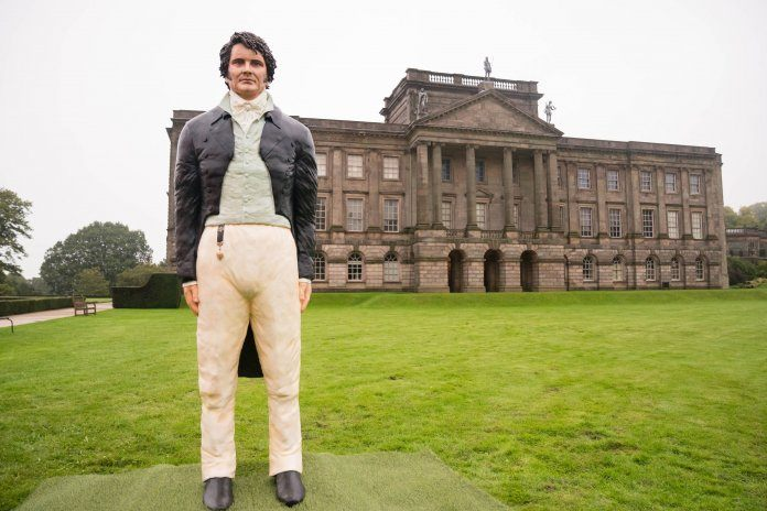 Life-sized Colin Firth cake created to celebrate Pride And Prejudice anniversary
