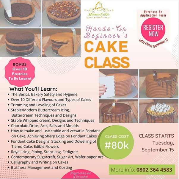 Beginner Cakes Training